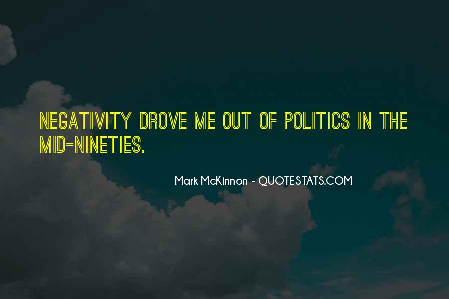 Say No To Negativity Quotes #3260