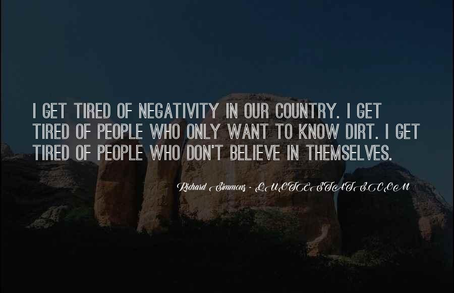Say No To Negativity Quotes #328925