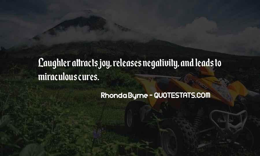 Say No To Negativity Quotes #330581