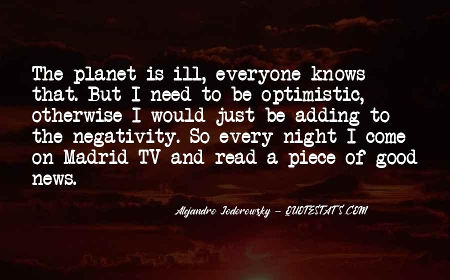 Say No To Negativity Quotes #56689