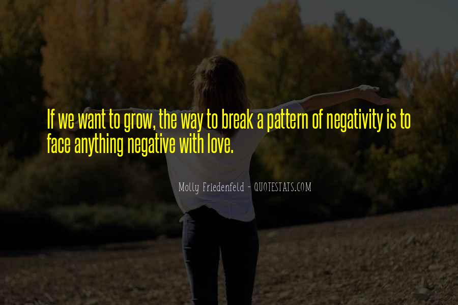 Say No To Negativity Quotes #73296