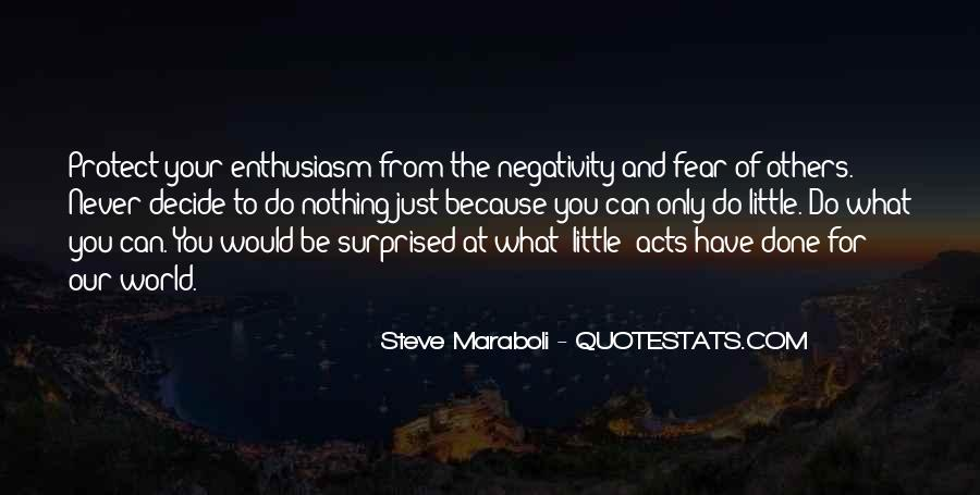 Say No To Negativity Quotes #80117