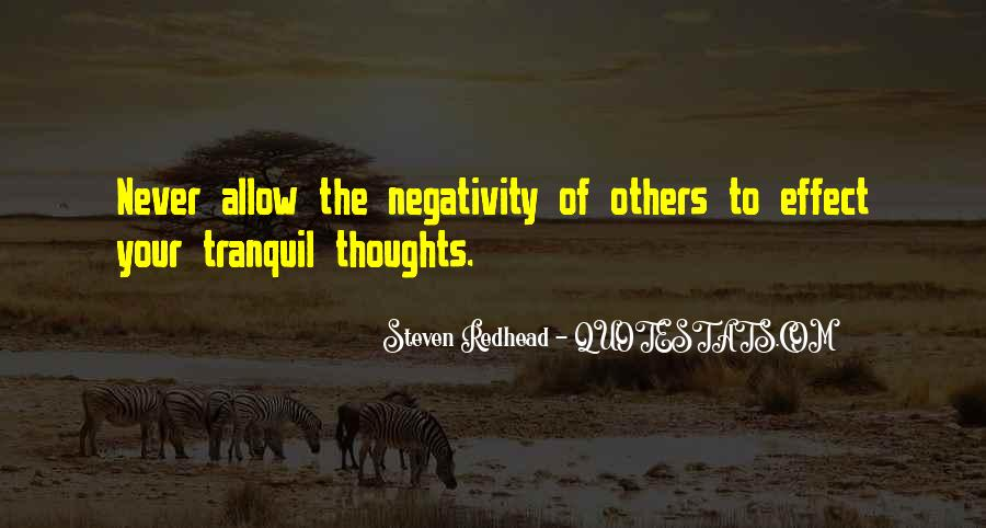 Say No To Negativity Quotes #92360