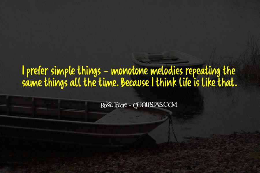 Say Something About Life Quotes #807
