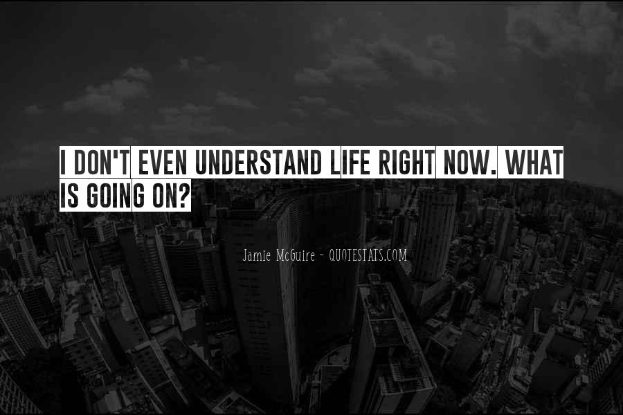 Say Something About Life Quotes #920