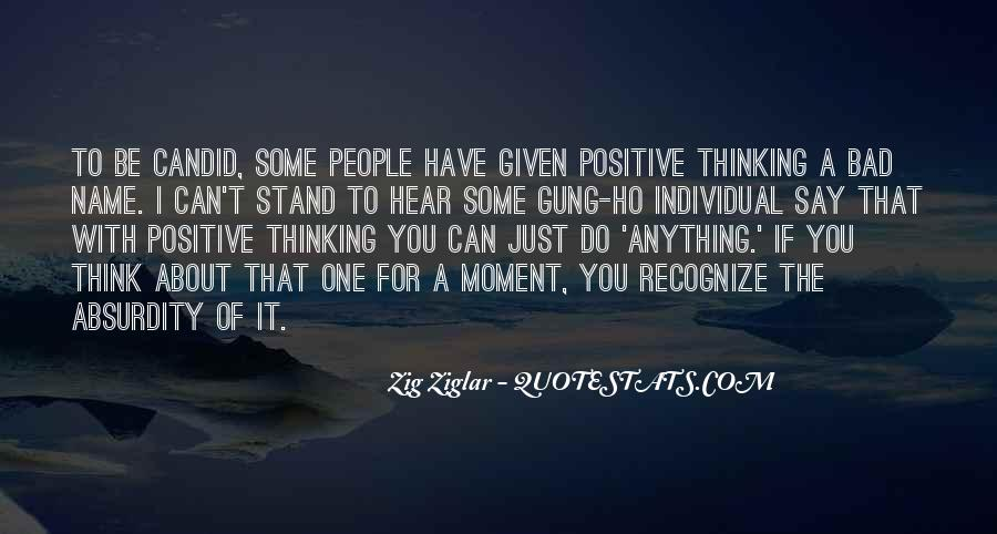 Say Something Positive Quotes #329468