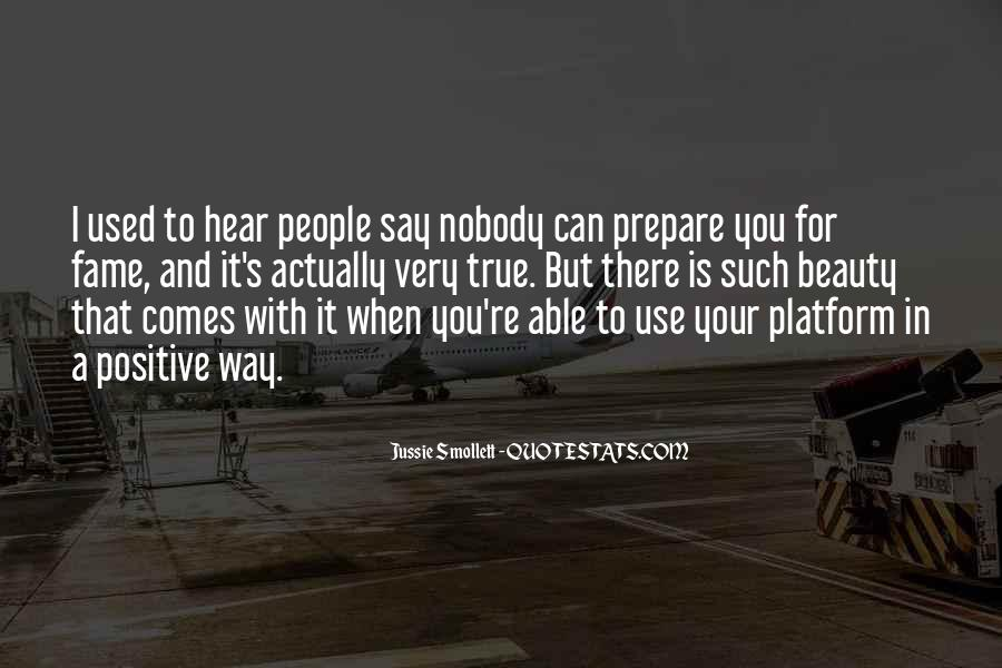 Say Something Positive Quotes #80772