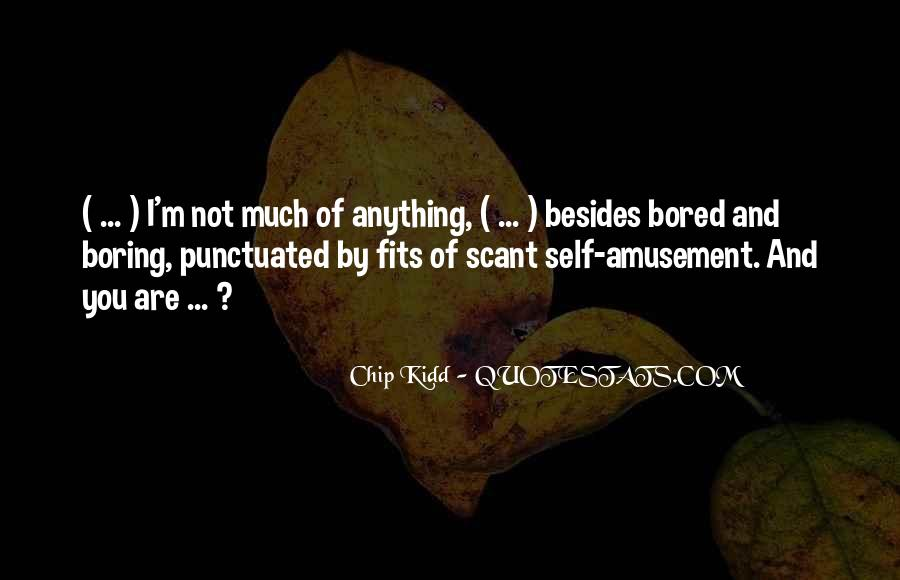 Scant Quotes #726385