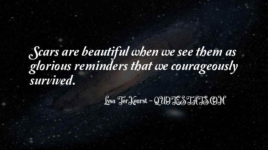Scar Quotes #118768