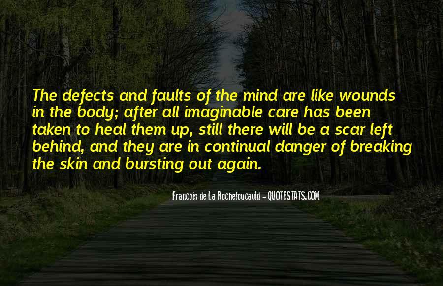 Scar Quotes #148847