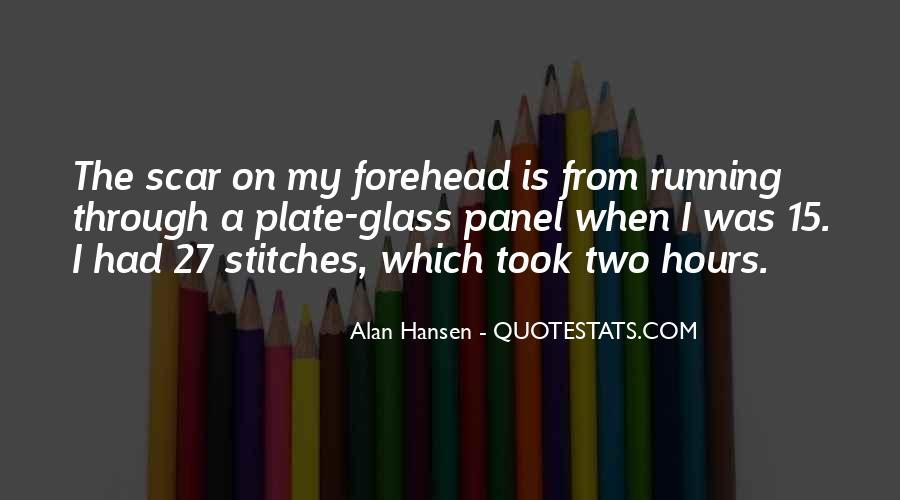 Scar Quotes #167206