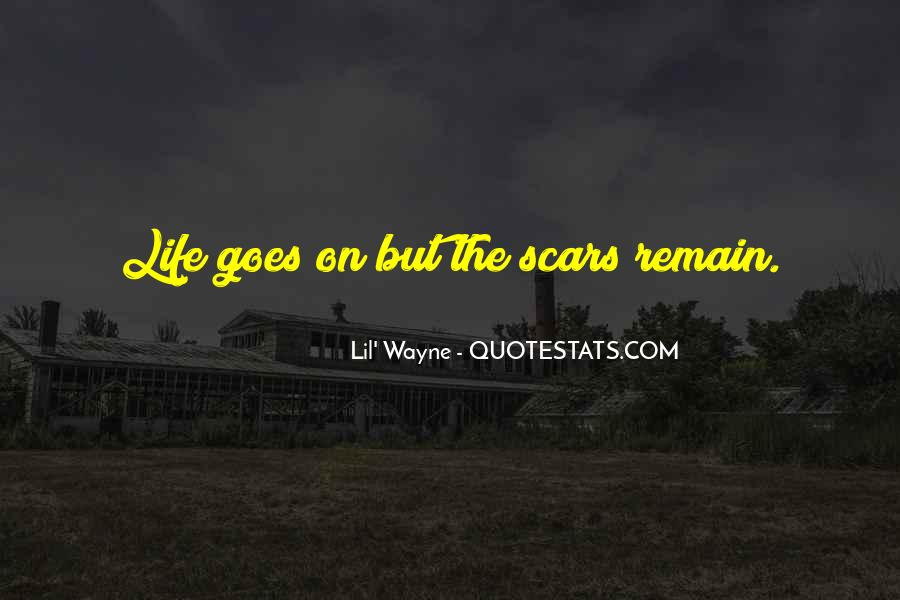 Scar Quotes #179245