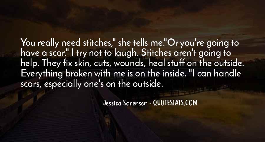 Scar Quotes #180414