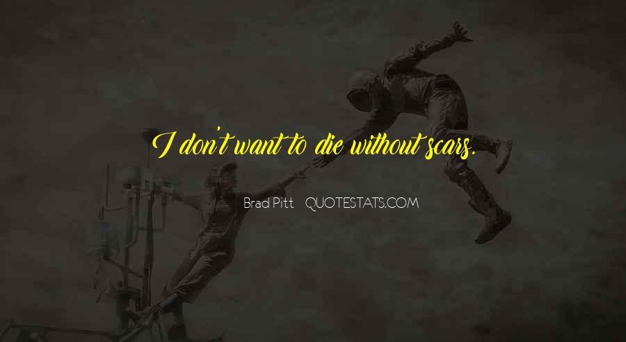 Scar Quotes #191135