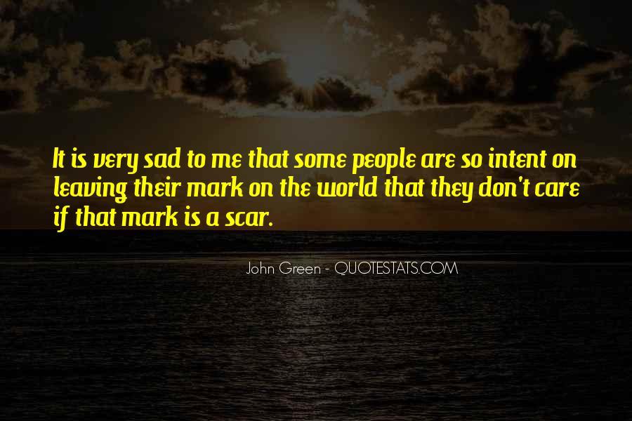 Scar Quotes #206453