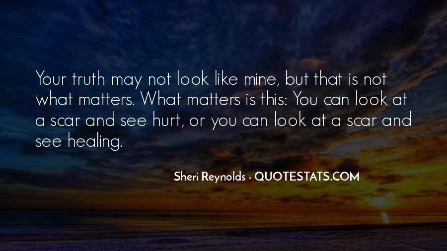 Scar Quotes #233104