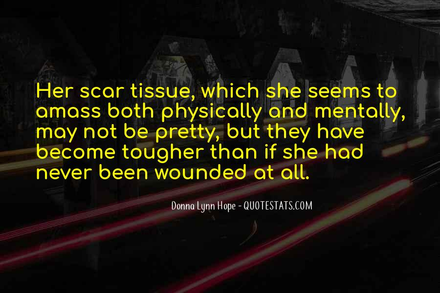 Scar Quotes #247121