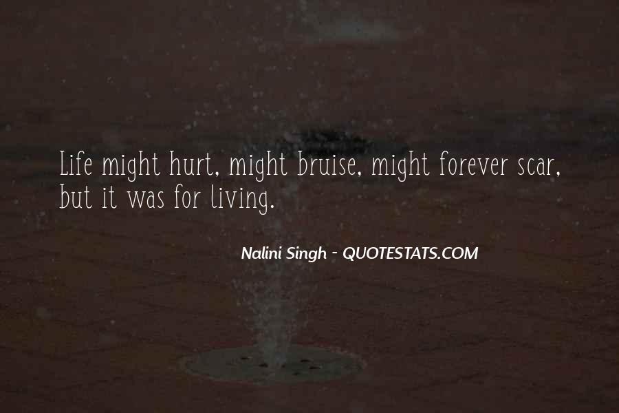 Scar Quotes #264146