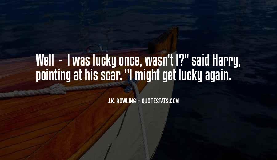 Scar Quotes #272198