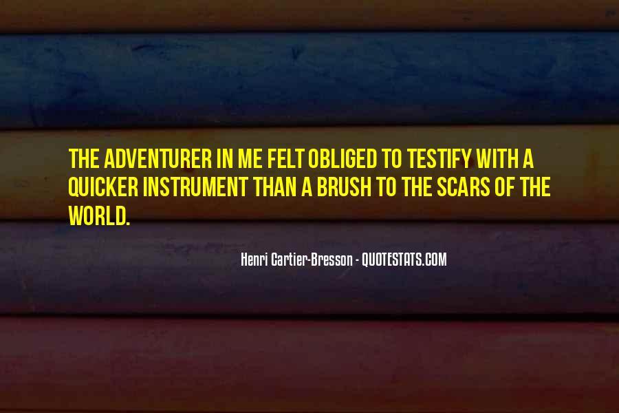 Scar Quotes #278849