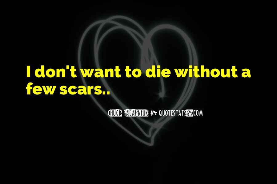 Scar Quotes #284163
