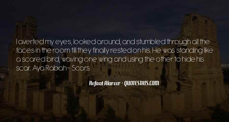 Scar Quotes #29248