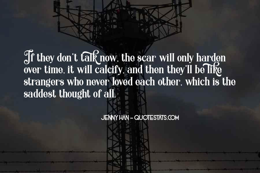 Scar Quotes #299614