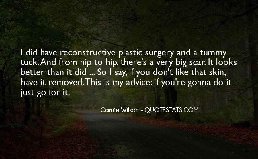 Scar Quotes #306124