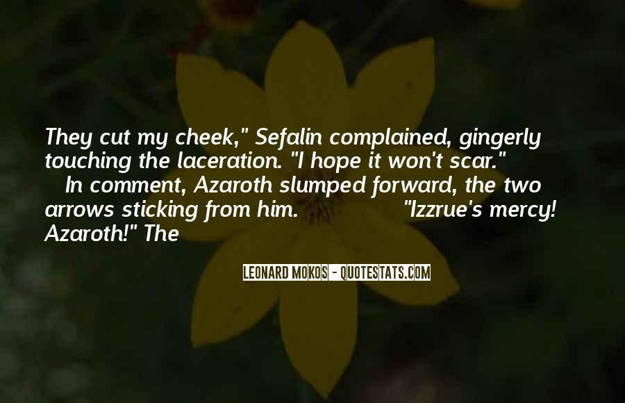 Scar Quotes #309974