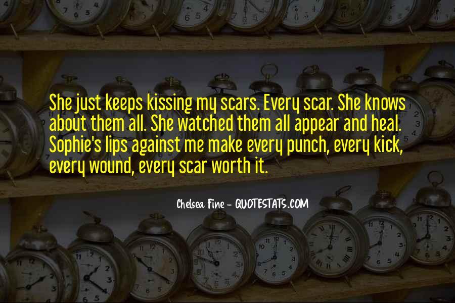 Scar Quotes #35363