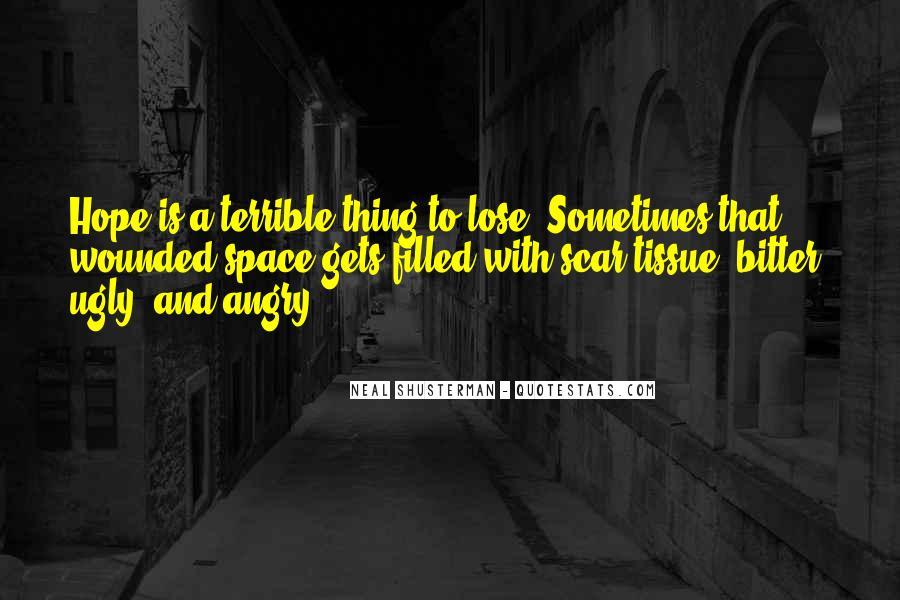 Scar Quotes #88131