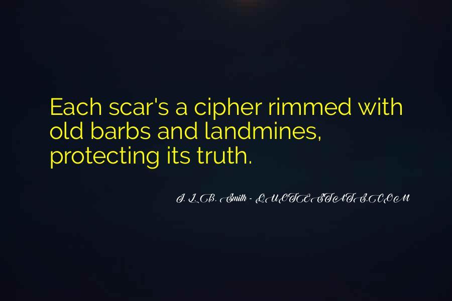 Scar Quotes #91815