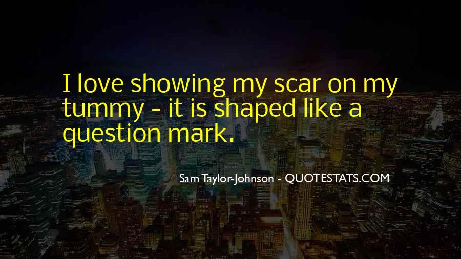 Scar Quotes #99895