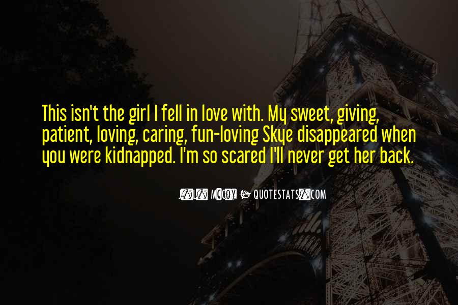 Scared Love Quotes #180685