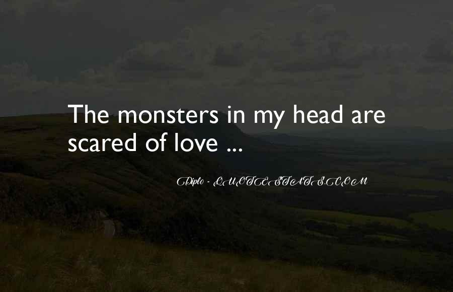 Scared Love Quotes #197520