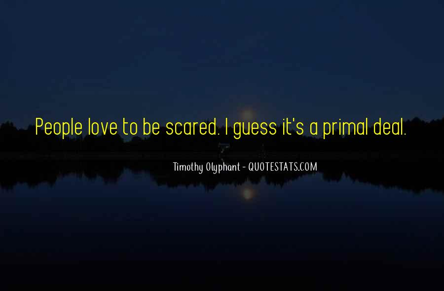 Scared Love Quotes #203271