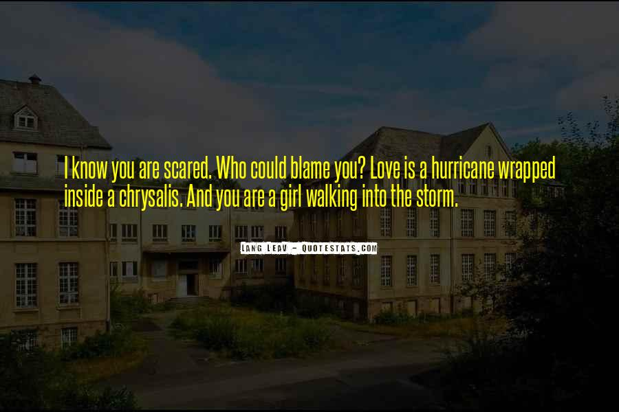 Scared Love Quotes #235843