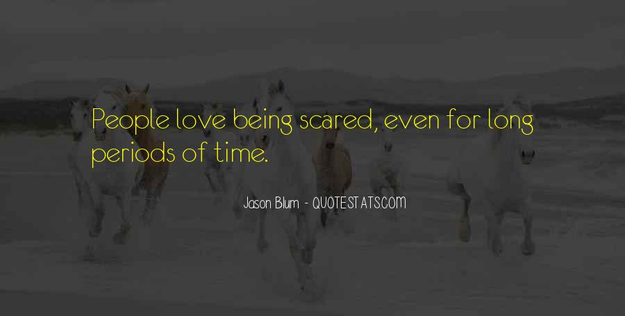 Scared Love Quotes #28129