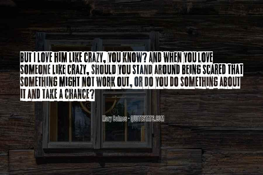Scared Love Quotes #414886
