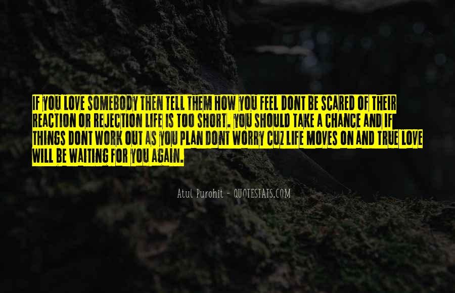 Scared Love Quotes #527873