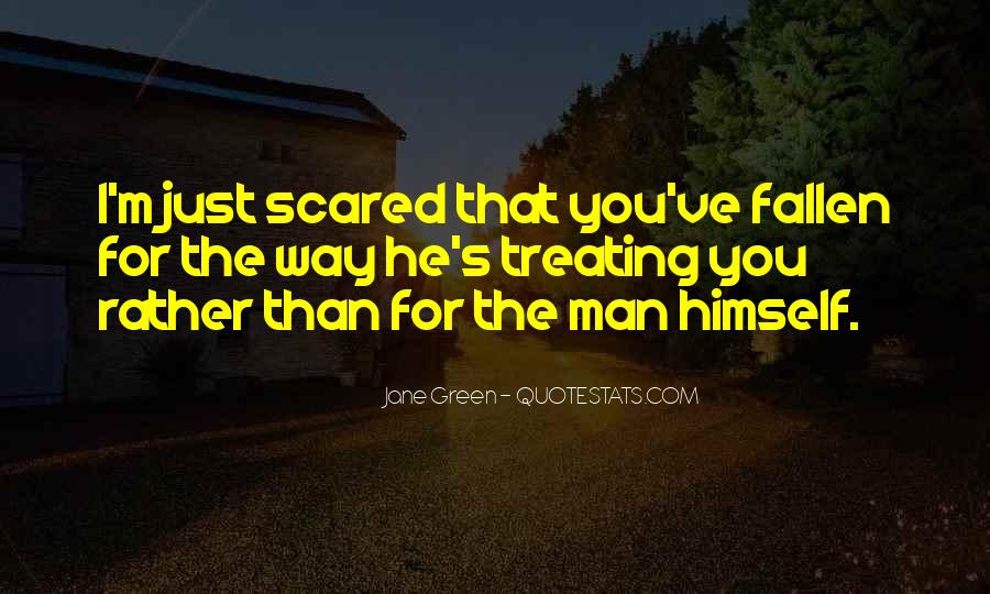Scared Love Quotes #534937