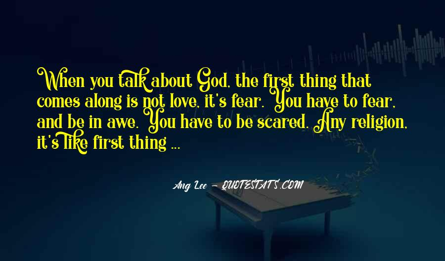 Scared Love Quotes #714491