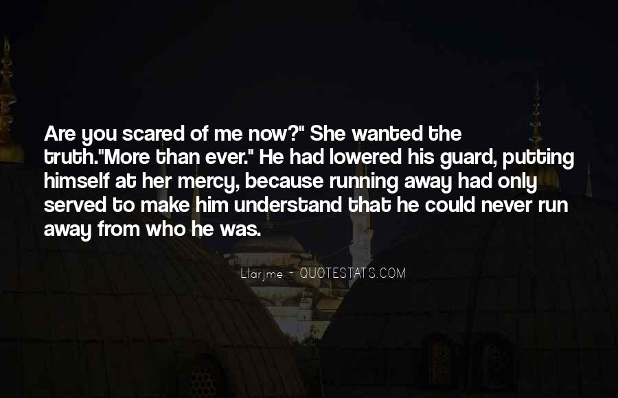Scared Love Quotes #724718