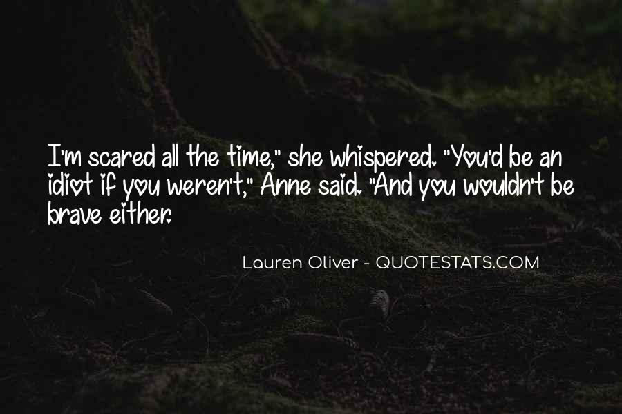 Scared Love Quotes #741382
