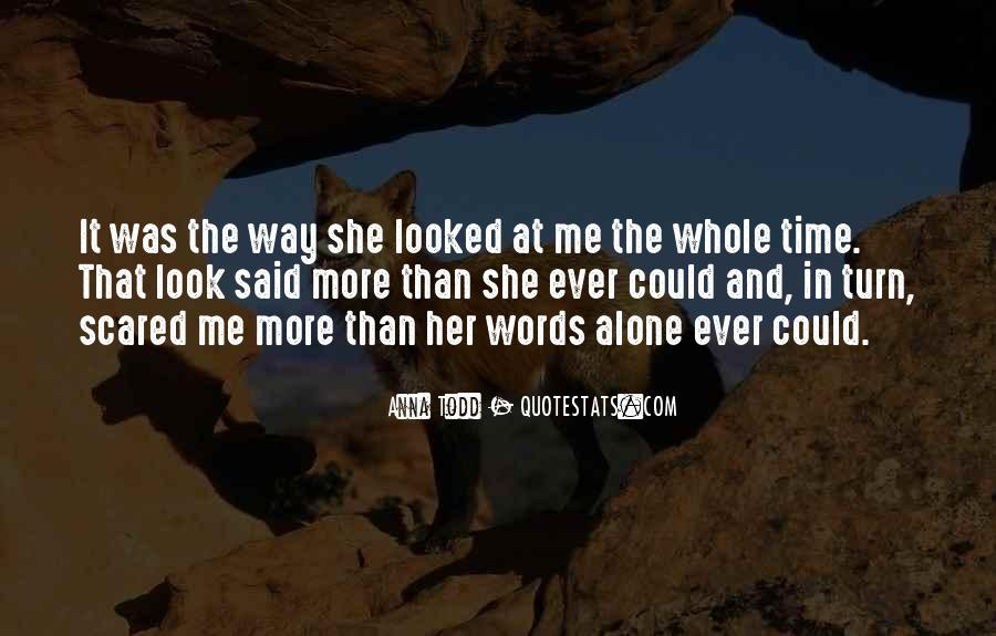 Scared Love Quotes #849190