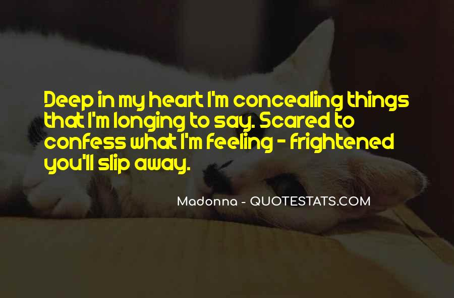 Scared Love Quotes #850451
