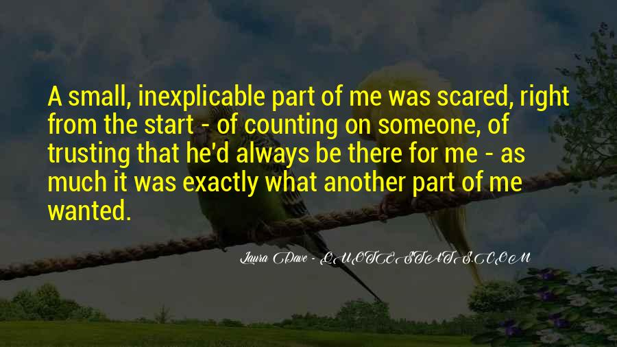 Scared To Start Over Quotes #1070278