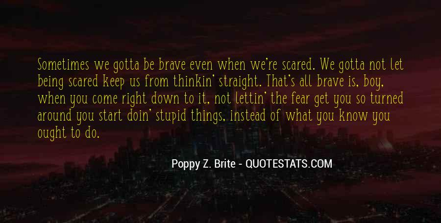 Scared To Start Over Quotes #1775464