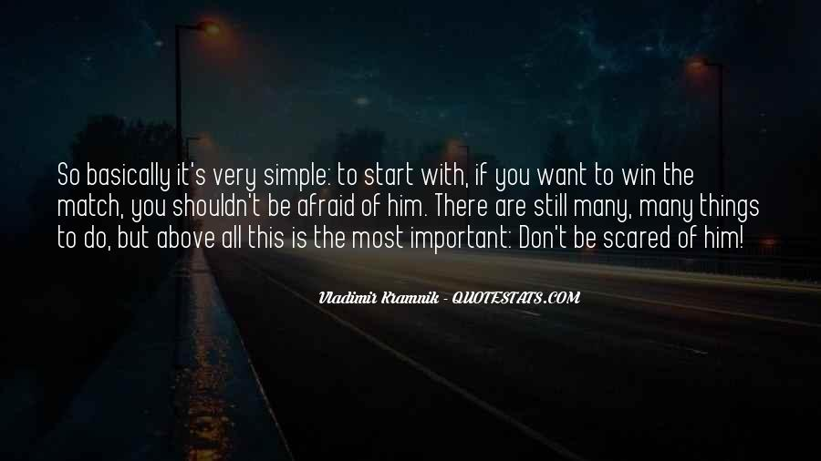 Scared To Start Over Quotes #424503