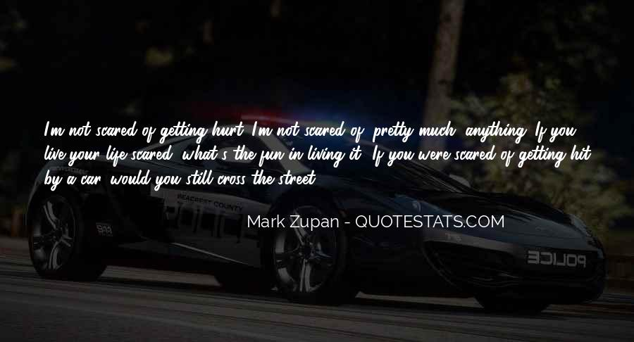 Scared You'll Hurt Me Quotes #1122314